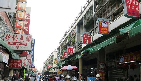 台南國華街的小吃/聯合報系資料照。