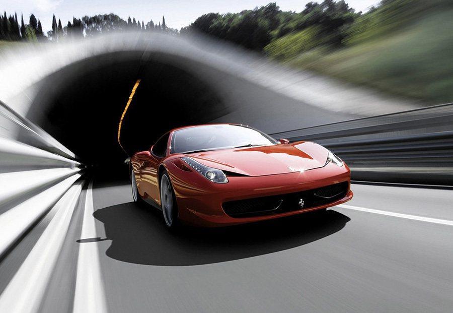 Ferrari 458 Italia。 Ferrari提供