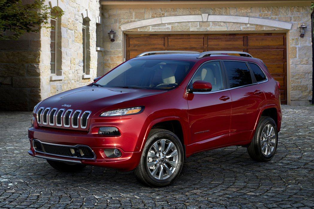 JEEP推出Cherokee Overland車款。 摘自JEEP.com