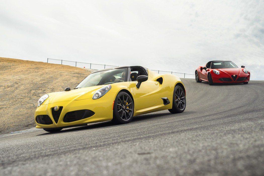 4C和4C Spider定價分別為55900美元、65900美元。 摘自Alfa Romeo.com
