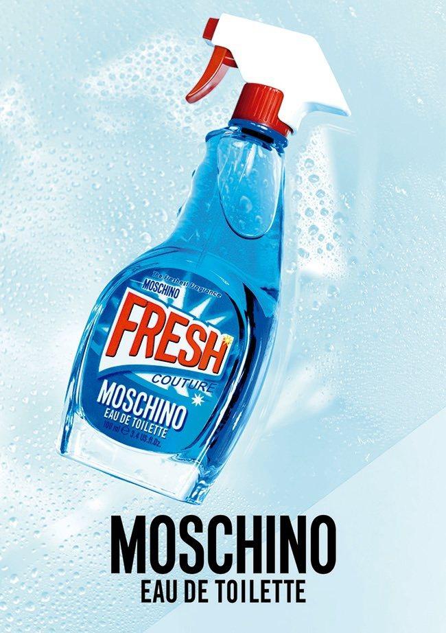 MOSCHINO小清新淡香水玩味十足的瓶身令人愛不釋手。圖/宏亞香水提供
