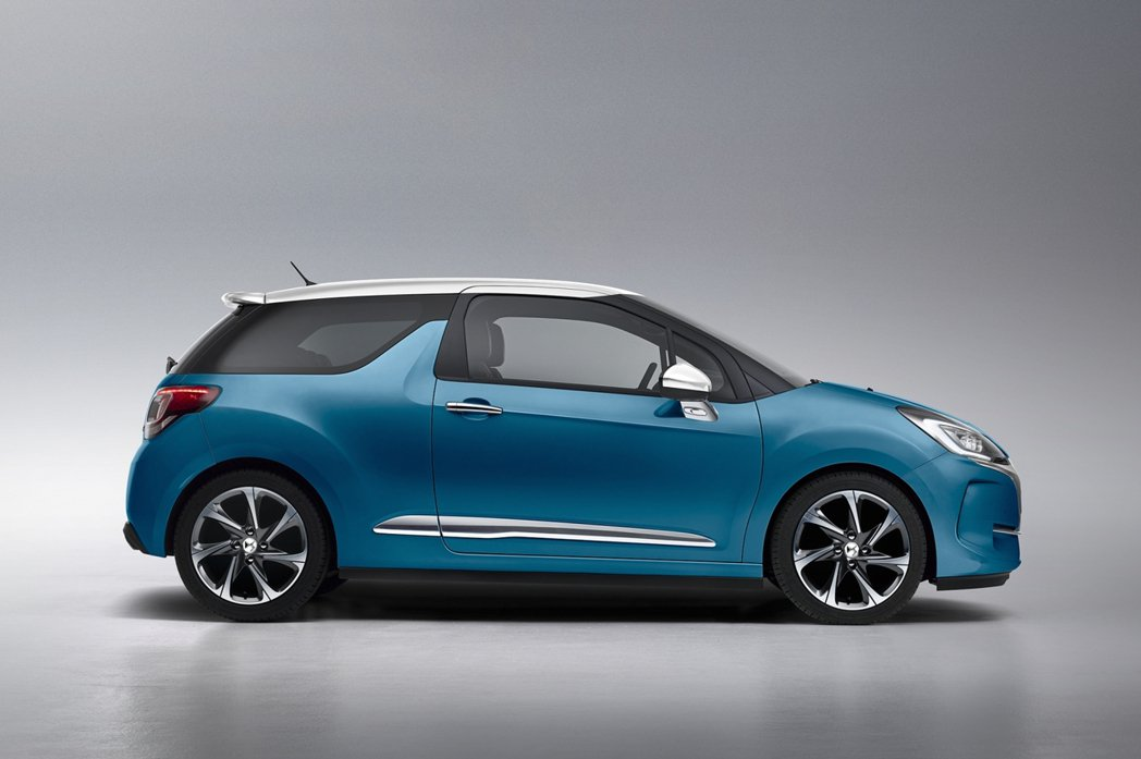 車色跟車頂共有78種不同顏色的組合。 圖/DS提供