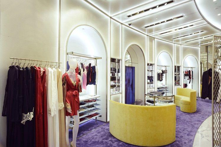 La Perla位於Bellvita的全新旗艦店。圖/La Perla提供
