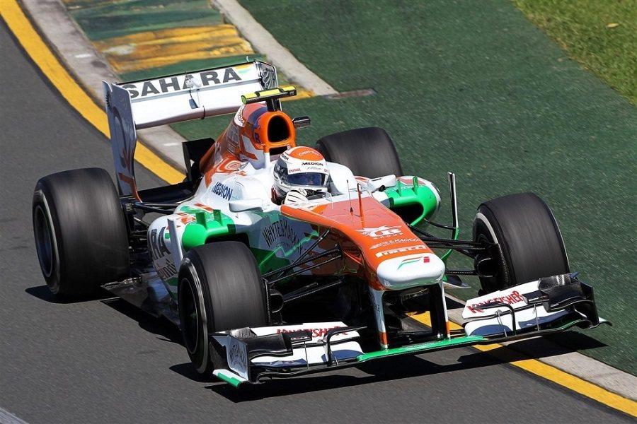 Sutil在F1賽場上的表現不俗,特別是在Force-India車隊期間。 摘自speedsport-magazine.com