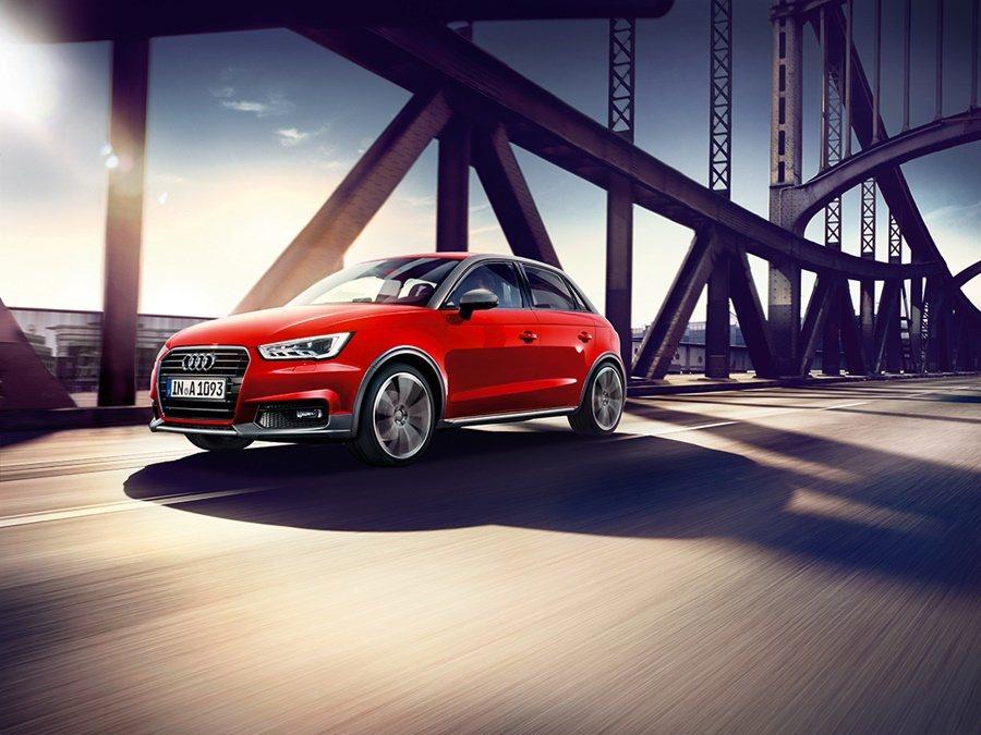 台灣奧迪農曆年前為今年新車攻勢暖身,推出今年首部新車Audi A1 Sportback 25 TFSI「都會酷玩特仕版」。 圖/AUDI TAIWAN提供