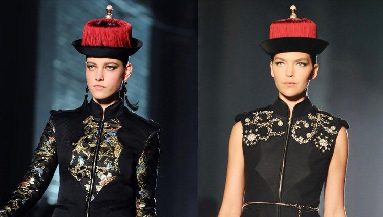 吳季剛同名品牌 Jason Wu 在2102年秋冬推出一系列帶著濃厚中國風的服飾...