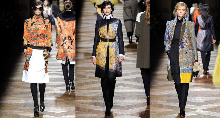 2012年,Dries Van Noten 用龍袍蓋念貫穿整個秋冬系列。透過不同...