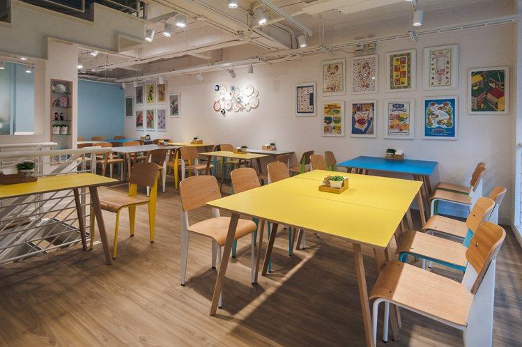Cath's Cafe在中山商圈—咖啡館一級戰區開幕。圖/Cath Kidsto...