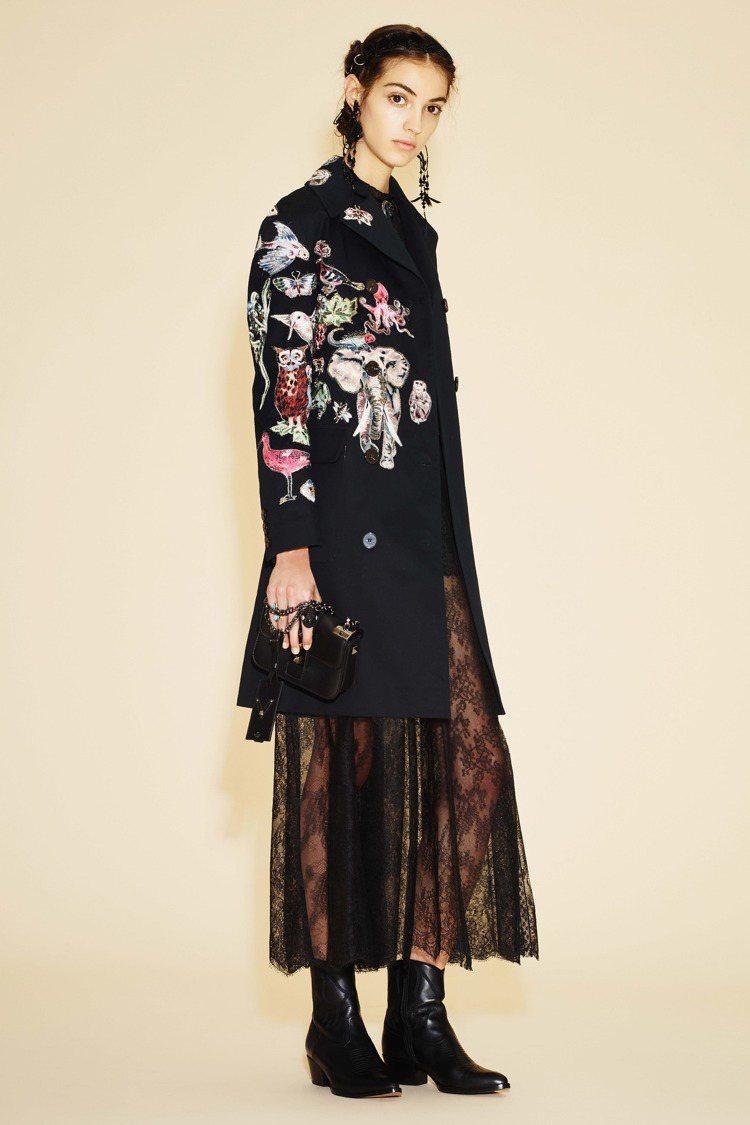 Valentino 女裝早春動物狂想曲。圖/VALENTINO提供