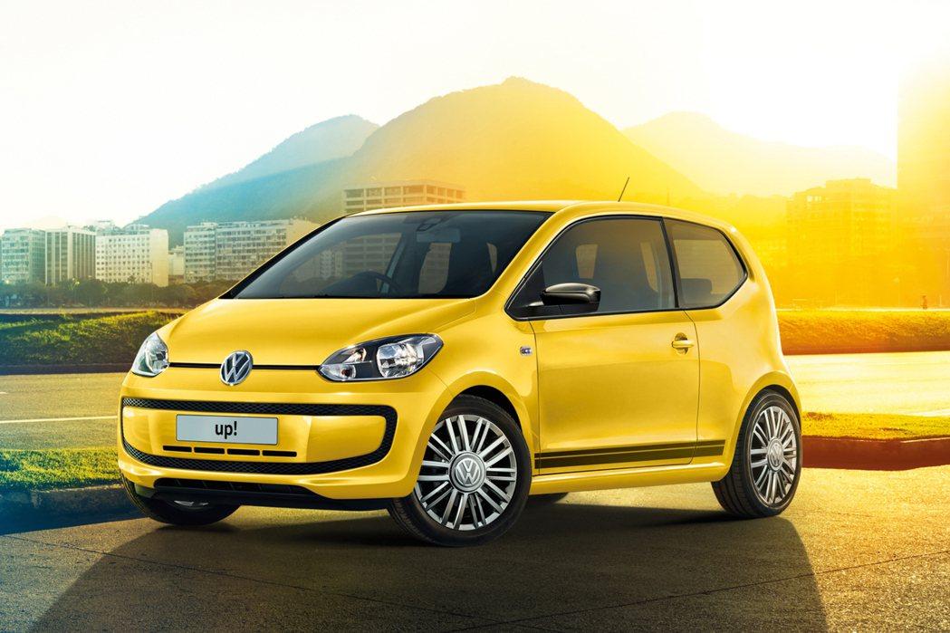 全新Look up!特仕版,原廠以Move up!進行改造,提供紅、白、黃三色選擇。 摘自Volkswagen.com
