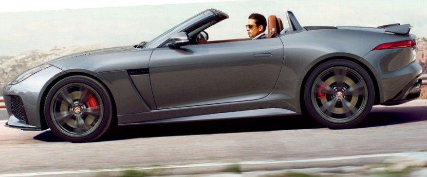 近日不斷流傳的全新猛豹F-Type SVR跑車,於網路上曝光。 摘自Jaguar.com