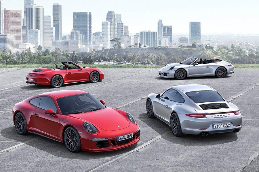 Porsche 911 Carrera GTS跑車。 Porsche提供