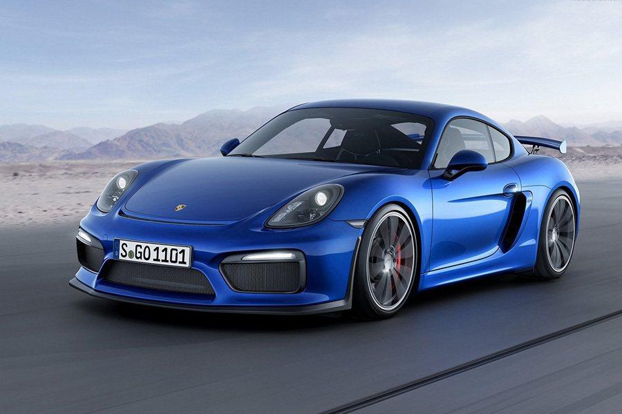 Porsche Cayman GT4跑車。 Porsche提供
