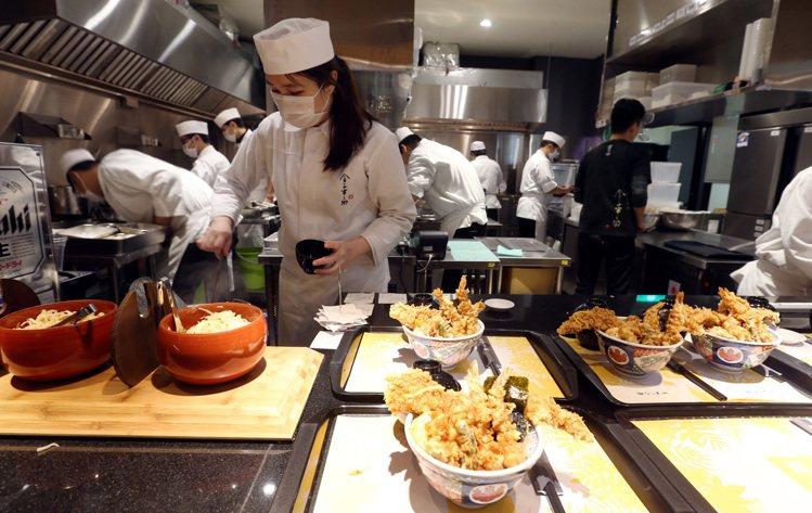 MITSUI OUTLET PARK餐飲部分是主打強項,全館共有47間餐飲可以選...