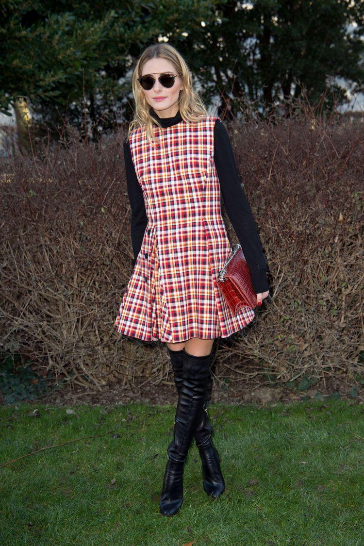 奧莉維亞巴勒莫也現身Dior高級訂製服發表。圖/Dior提供
