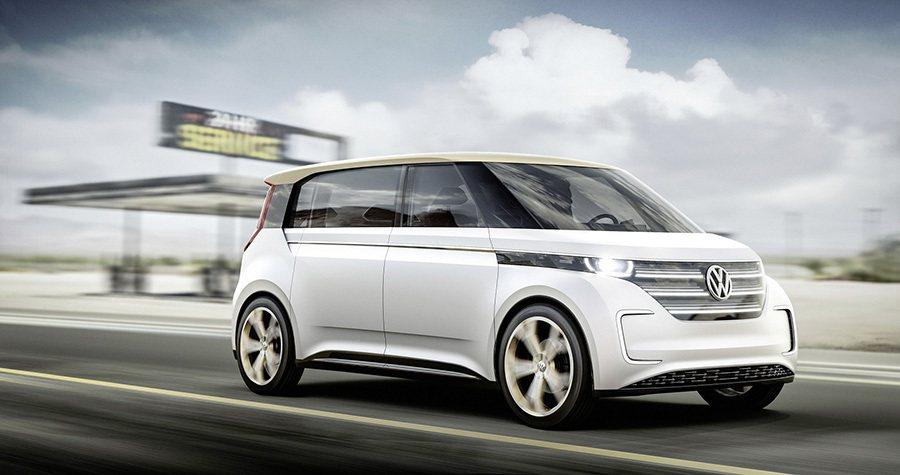 BUDD-e電動概念車在2016年國際消費電子大展獲媒體高度讚揚,榮膺美國網路雜誌Engadget及SlashGear一致好評。 Volkswagen提供