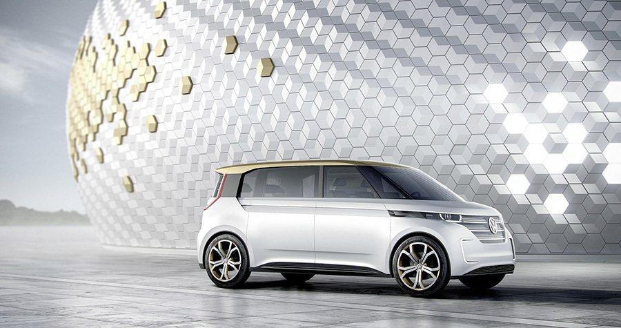 該車以車外攝影機取代傳統後照鏡。 Volkswagen提供