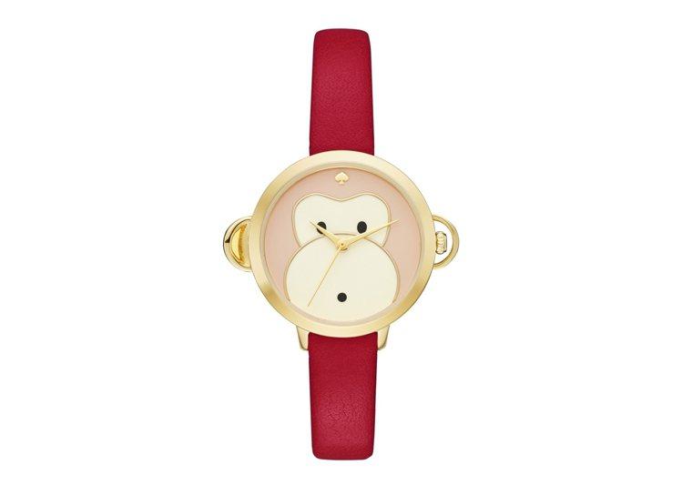 猴年限定計時腕表,價格8,000元。圖/Kate Spade New York