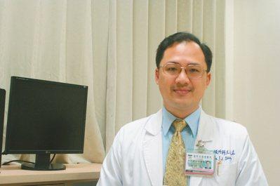 國軍花蓮總醫院一般外科醫師王友立。 圖,國軍花蓮總醫院提供