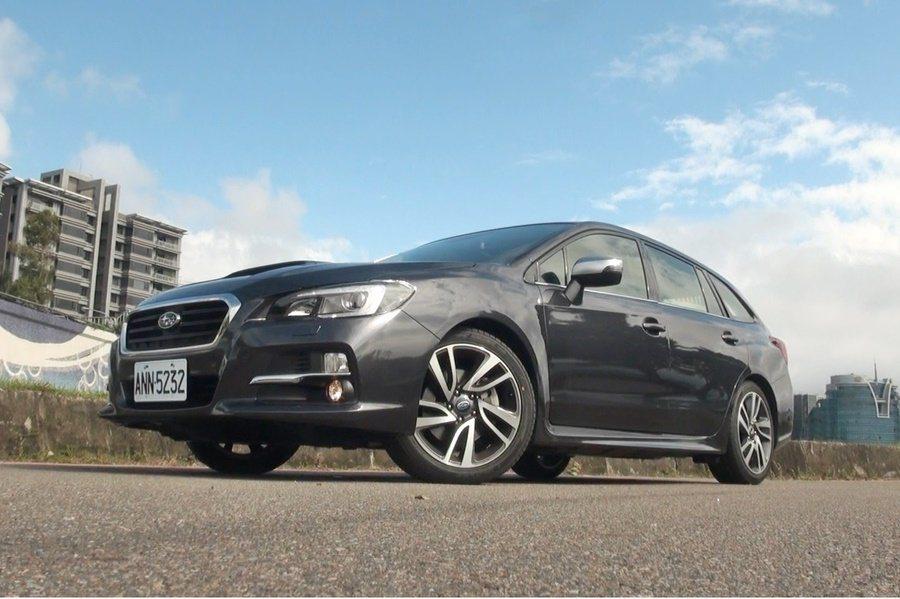 用以取代Legacy Wagon的Subaru全新一代旅行車Levorg,有著運動化的外型。 記者趙惠群/攝影