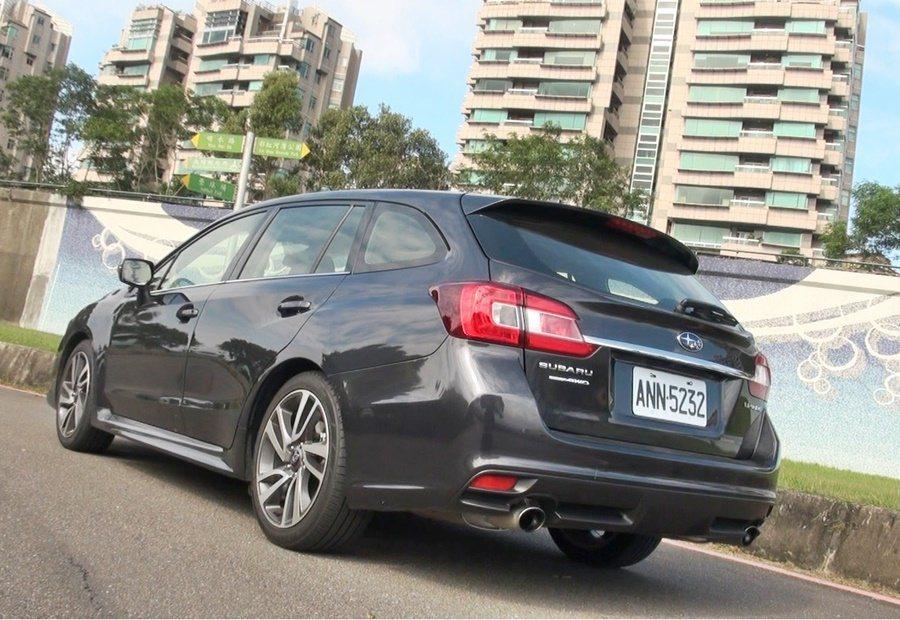 用以取代Legacy Wagon的Subaru全新一代旅行車Levorg,有著運動化的外型。