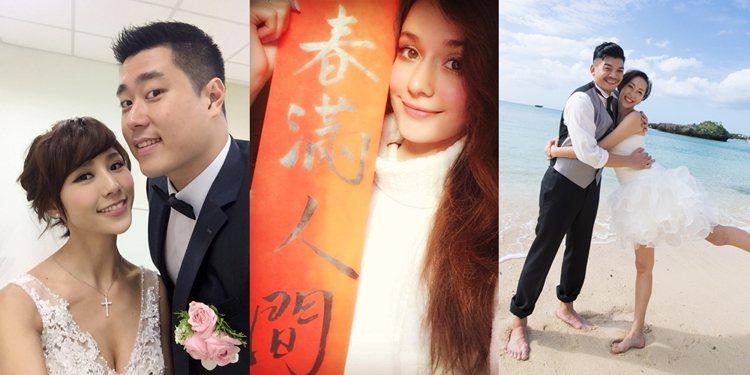 演藝圈新嫁娘,第一次吃團圓飯心情好忐忑。圖/伊林、艾迪昇、瑞莎提供