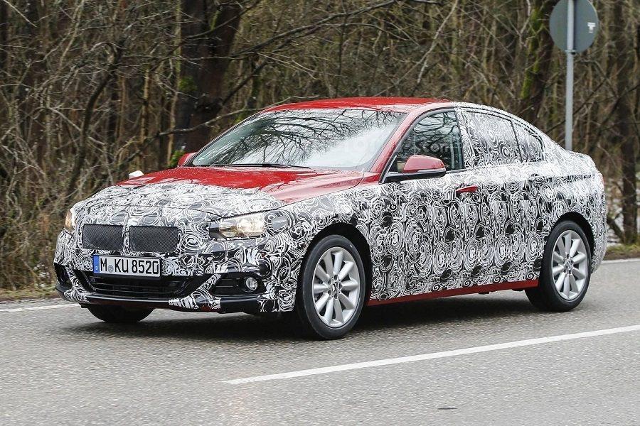 BMW 1-Series偽裝照曝光。 摘自Worldcarfans.com