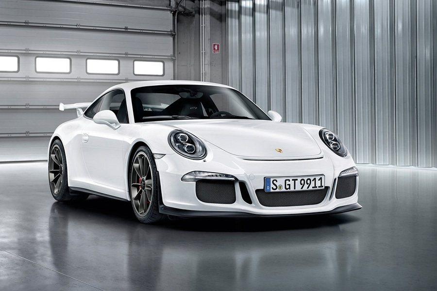 Porsche 911 GT3跑車。 Porsche提供