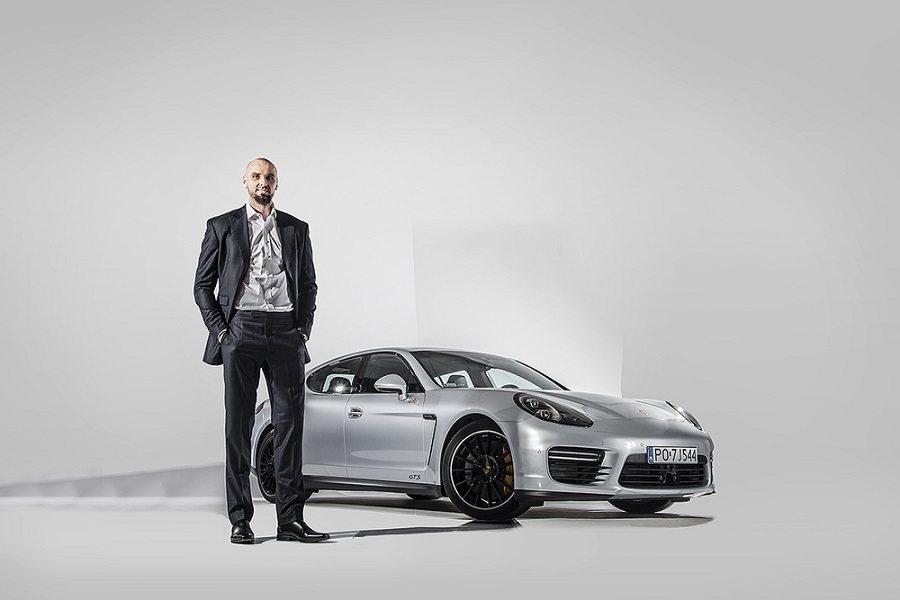 華盛頓巫師隊知名球員Marcin Gortat出售他的Porsche Panamera GTS。 Porsche提供