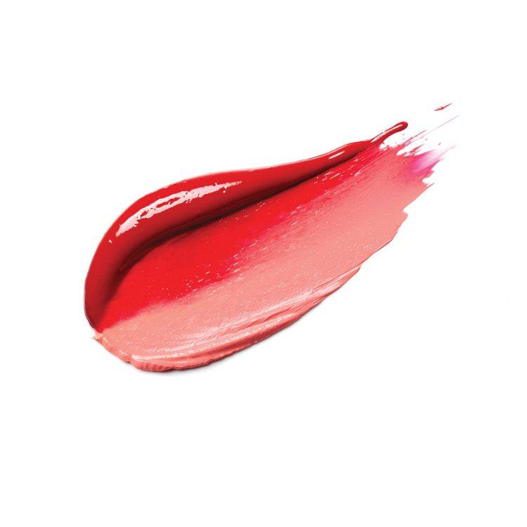 超放電絲絨雙色唇膏質地。圖/LANEIGE提供