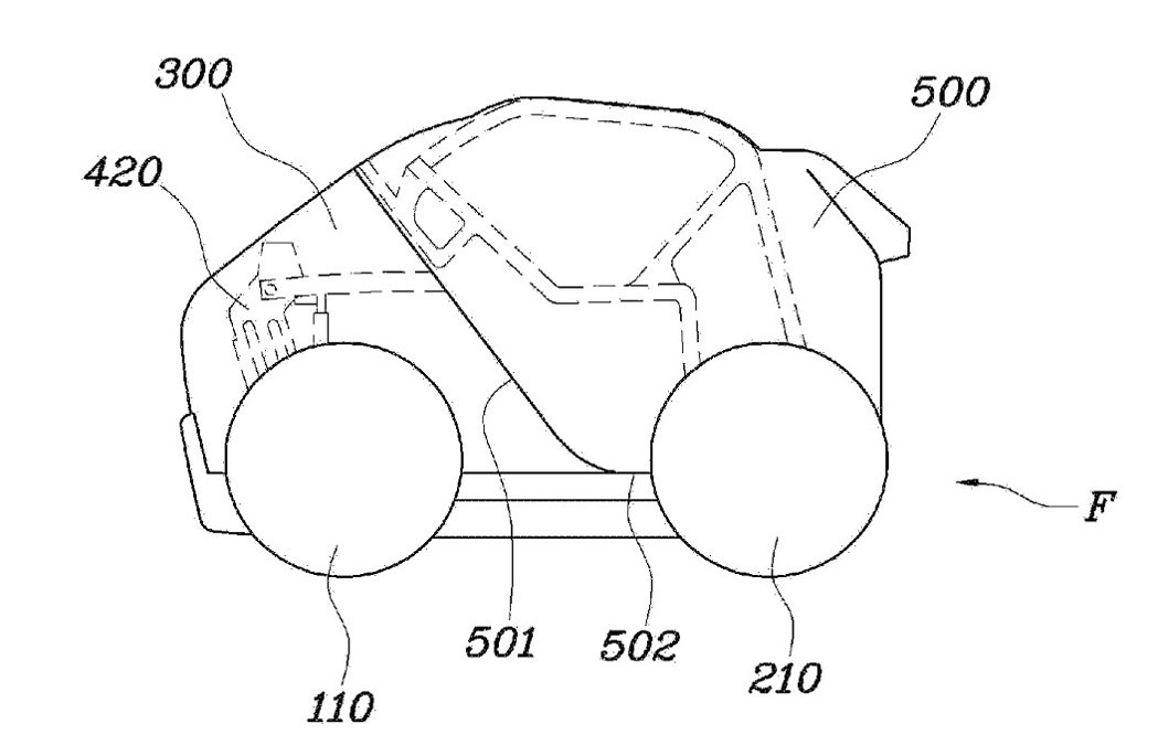 Hyundai近日於美國取得一項城市摺疊微型車的專利,引發車迷熱烈討論。 摘自Hyundai.com