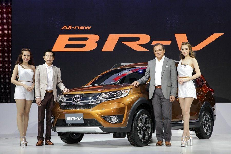 Hona全新七人座休旅車BR-V在泰國正式販售。 Honda提供