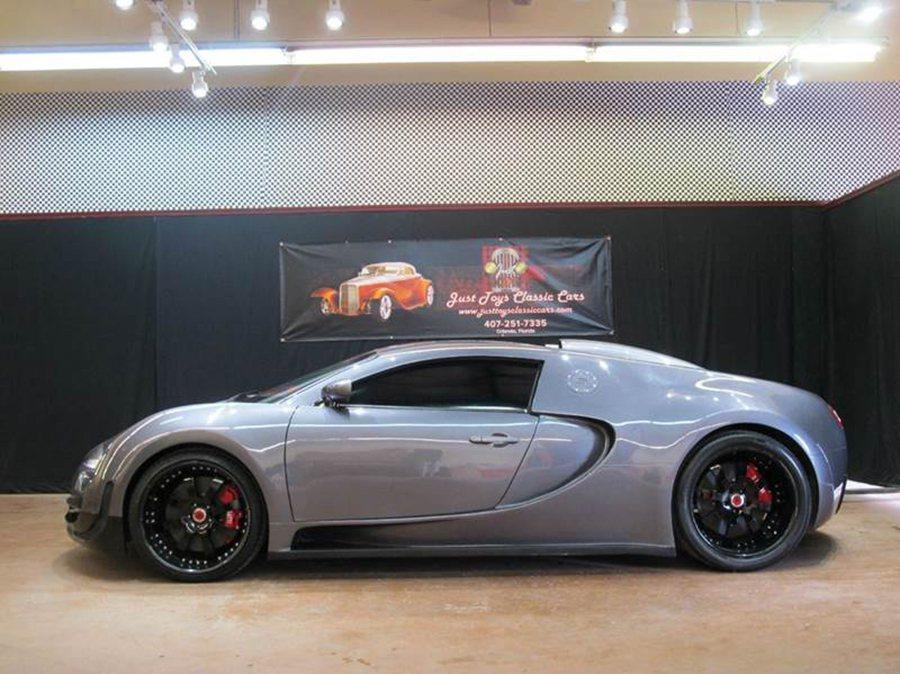 Bugatti Veyron超跑複製車 摘自justtoysclassiccars.com