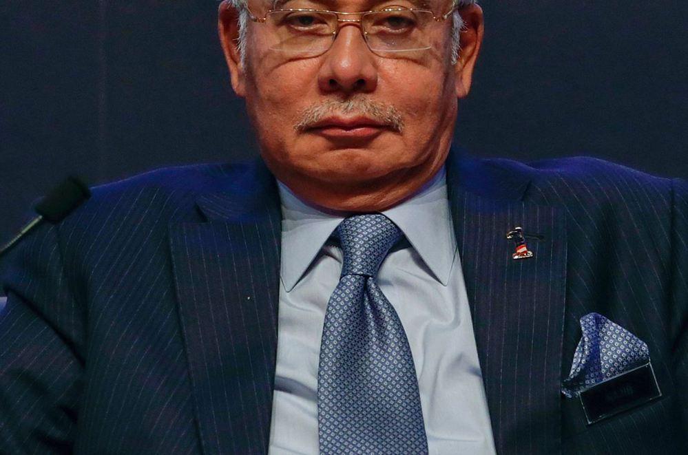 阿拉伯王室好友——馬來西亞總理納吉布。 (圖/路透社)