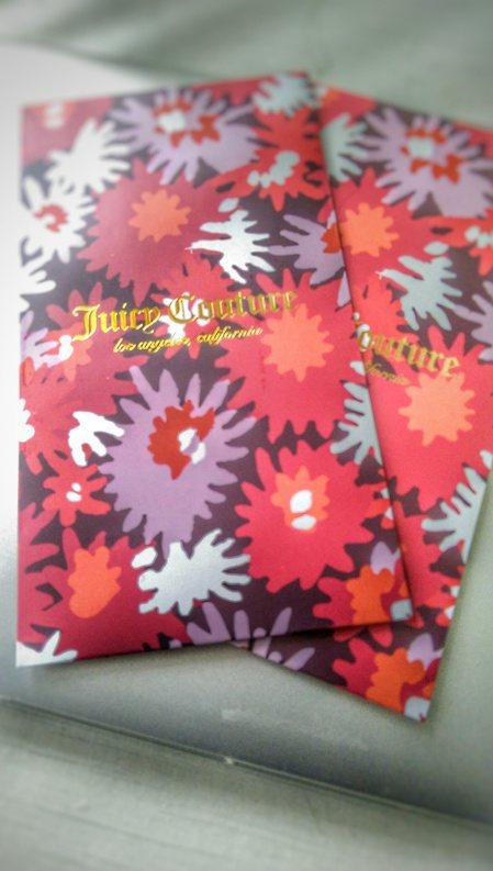 Juicy Couture紅包袋。記者江佩君╱攝影