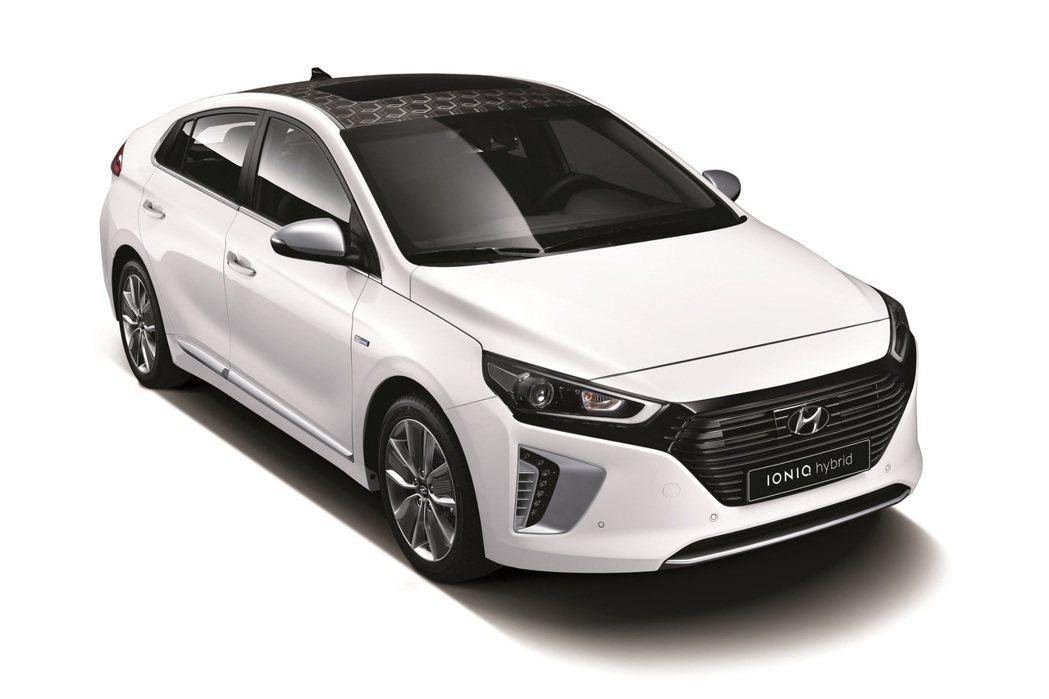 全新IONIQ油電混合動力車採用最新研發的混合動力技術,亦可安裝於小型車中使用。 摘自Hyundai.com