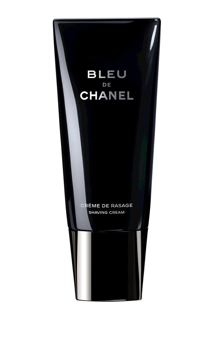 香奈兒藍色男性刮鬍霜,100ml/1,680元。圖/香奈兒提供