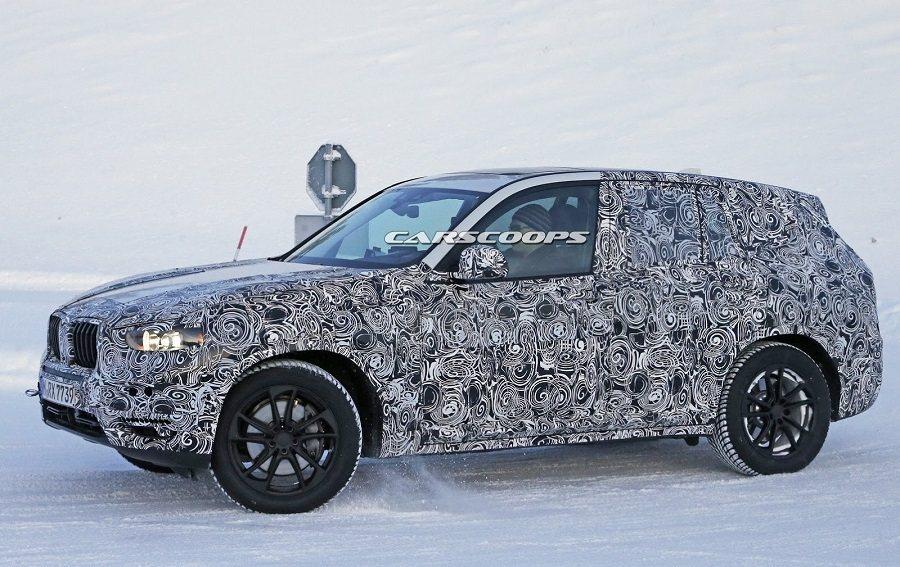 新一代X3的最大亮點將會是M-Power車型的出現。 摘自carscoops....