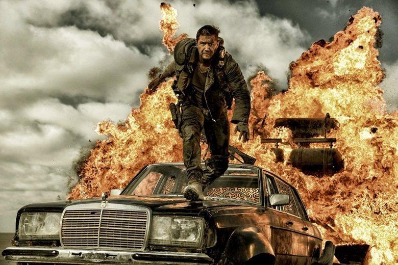 《瘋狂麥斯:憤怒道》電影劇照。 圖/華納兄弟提供