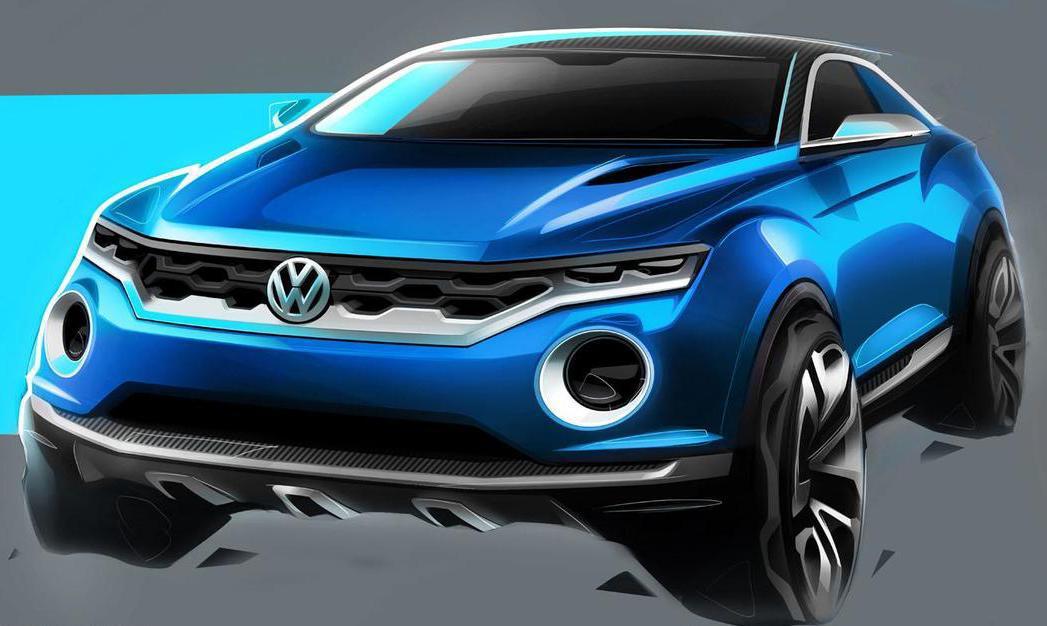 Volkswagen將於三月份開幕的日內瓦車展上,推出一款名為T-cross的小型跨界SUV概念車,外型將採用些許來自T-Roc的設計特色。(圖為T-Roc) 摘自Volkswagen.com