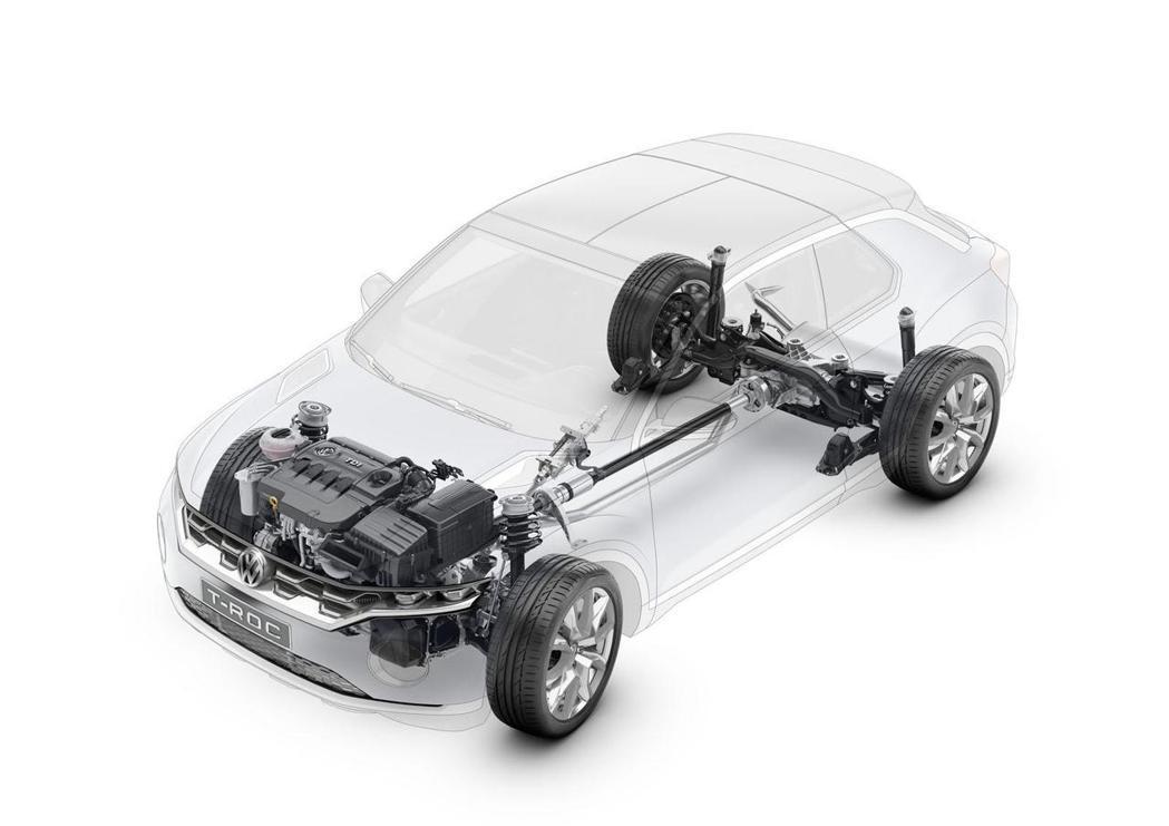 動力方面除了現行汽油渦輪與柴油渦輪引擎外,結合電動馬達的Hybrid車款也有機會搭載。 摘自Volkswagen.com