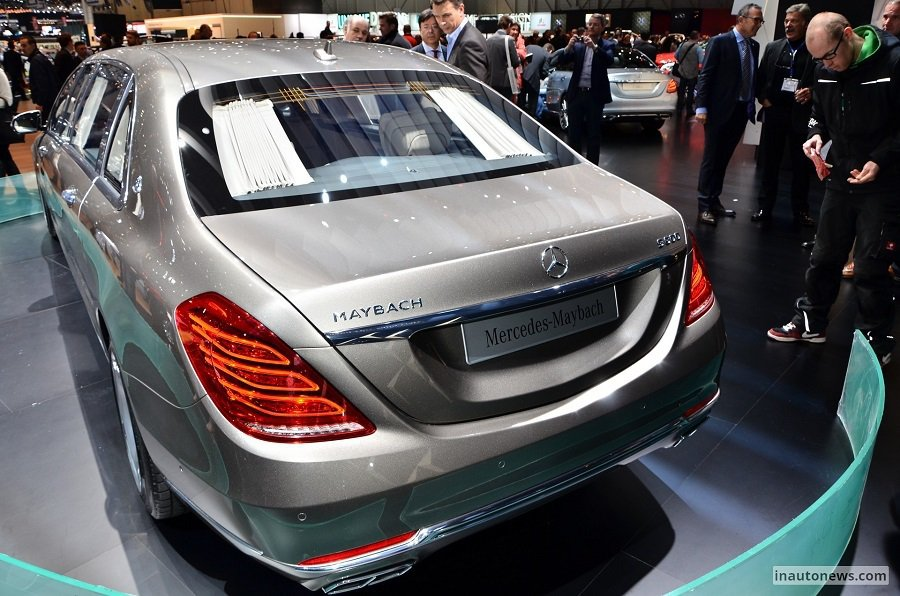 Mercedes Maybach S600 Pullman有著寬闊豪華的車室空間與級奢華的車內設施。 摘自inautonews.com