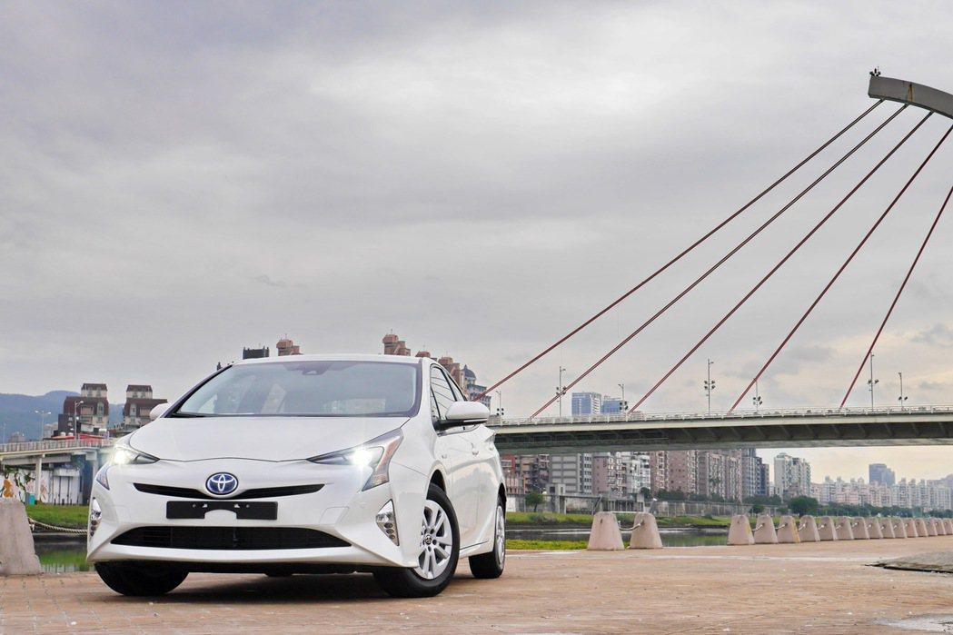 Toyota Prius。 記者陳威任/攝影