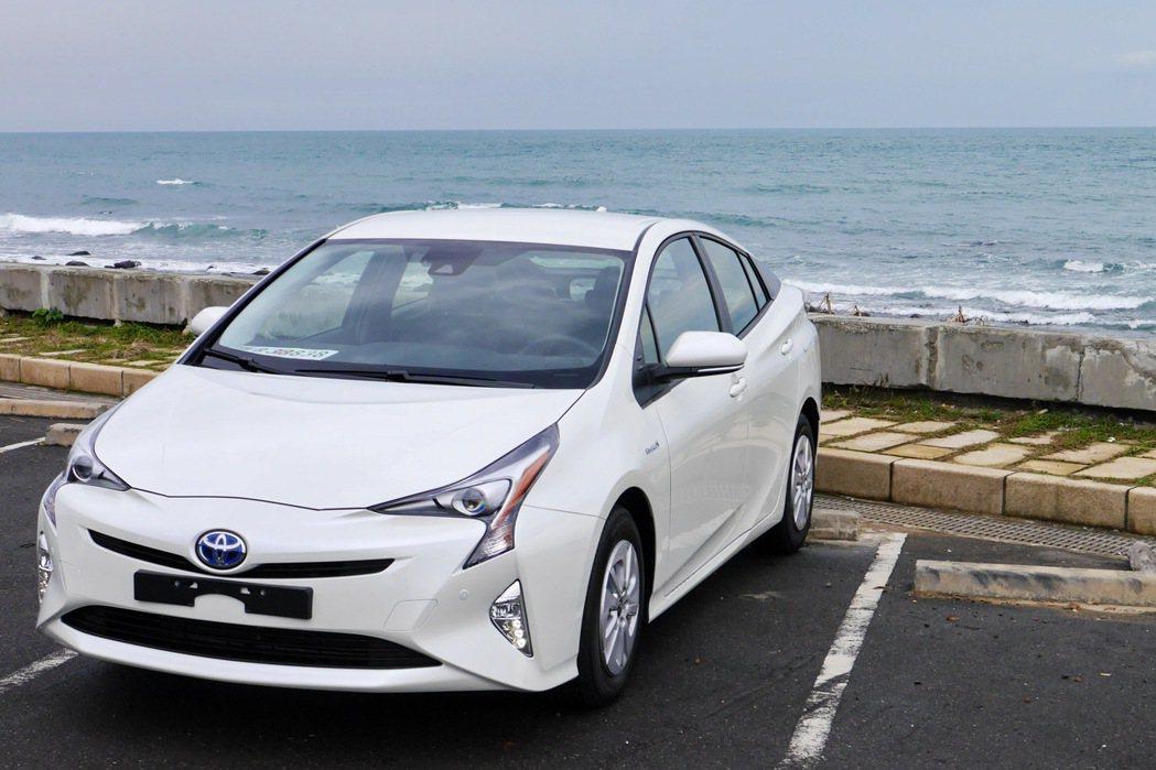 第四代Prius在日本推出後,買氣居高不下。 記者陳威任/攝影