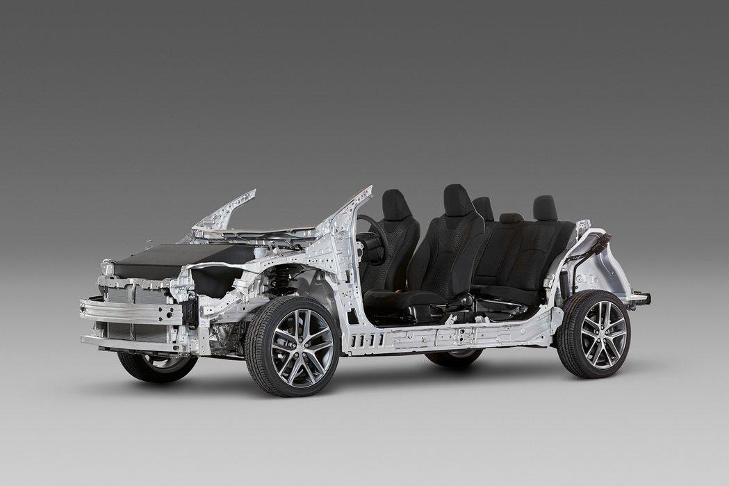 TNGA(Toyota New Global Architecture)全球底盤...