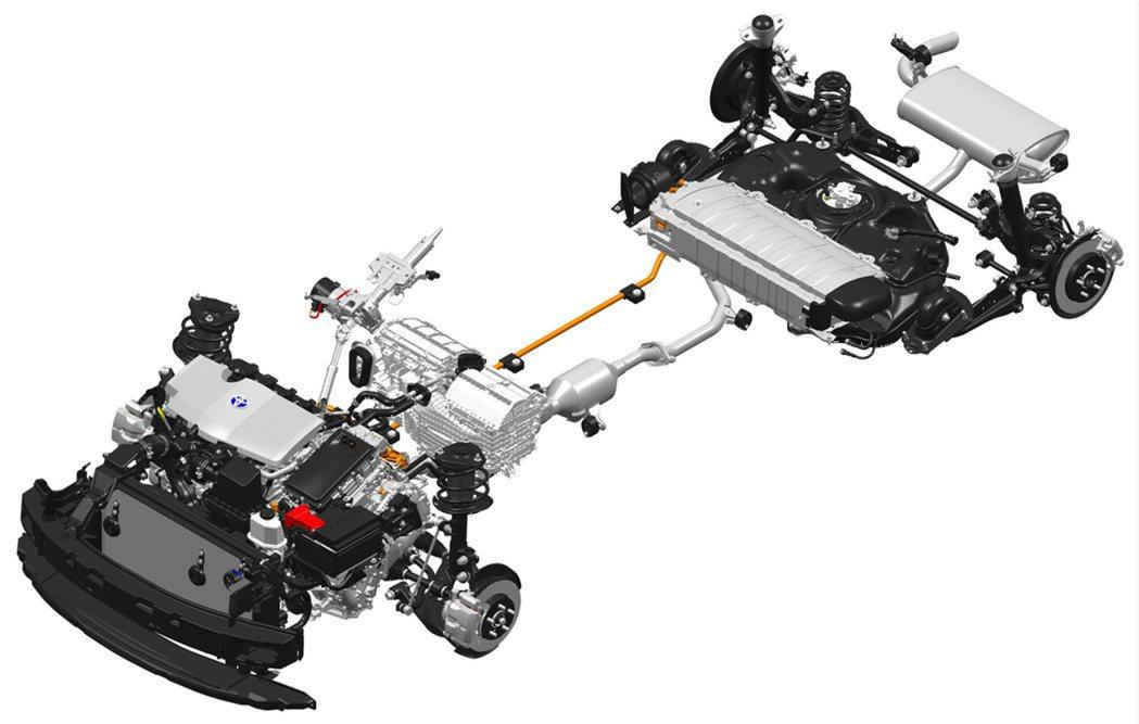 第4代Prius的Hybrid系統,維持前代以1.8升Atkinson引擎、電動...