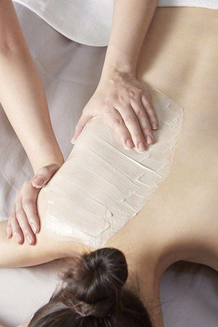 隱舍亞馬遜白泥淨化敷體課程也適用於長期疲勞者、準新娘。圖/隱舍提供