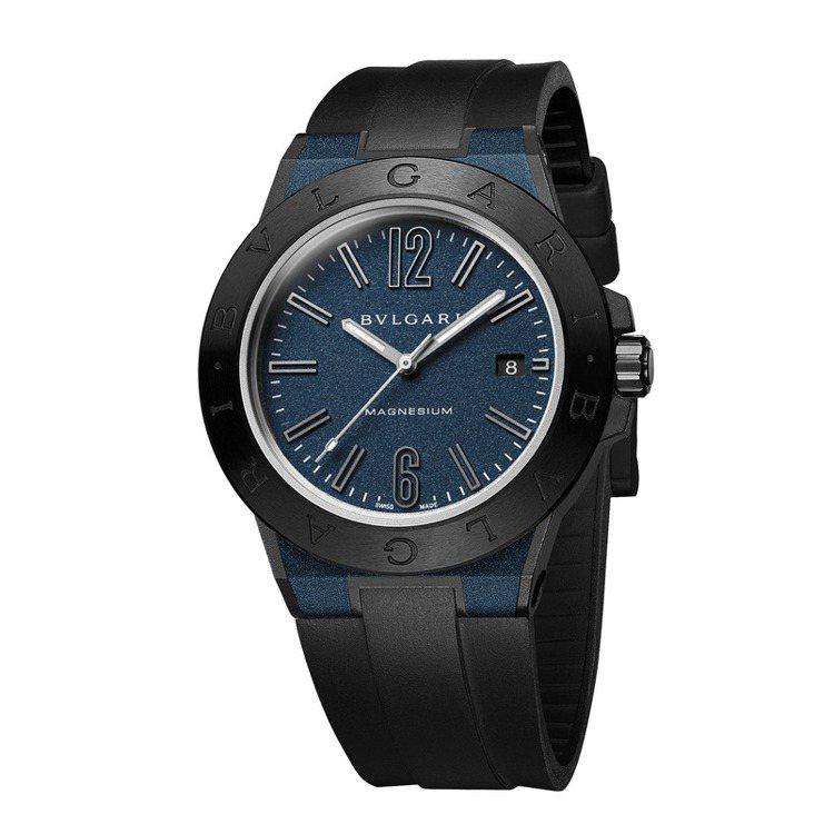 寶格麗Diagono Magnesium自動腕表(深藍款),價格14萬1,600...