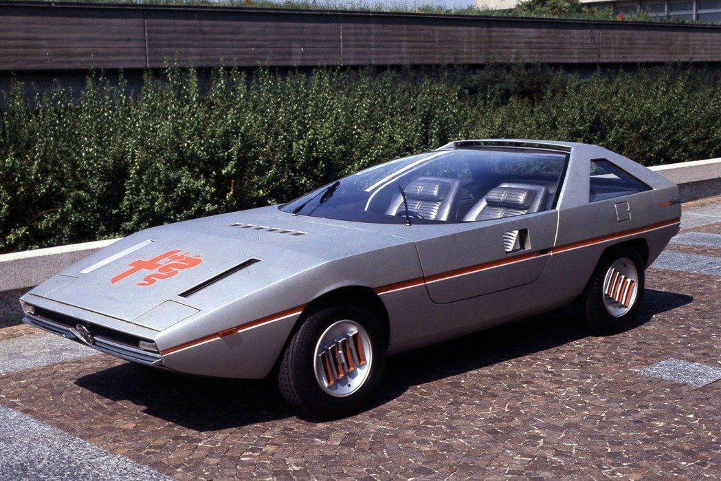 Alfa Romeo將於德國Bremen Classic Motor Show經典車展上展出塵封已久的Alfasud Caimano concept車款。 摘自Alfa Romeo.com