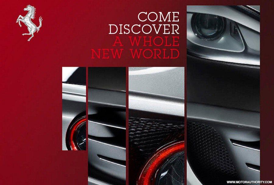 原廠的發表邀請函中已曝光了待發表車款的部分特色。 摘自carscoops.com